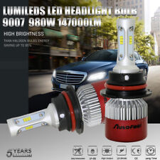 9007 980W 147000Lm Headlight Led Conversion Kit High Low Beam Bulbs High Power