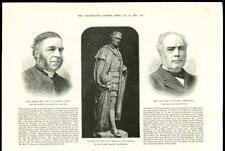 1888-Ritratto REV SIR Stamer statua Duca Buccleuch Ritratto MR James caird (38A)