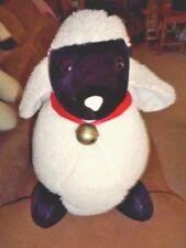 "Sheep Black White LG 21"" Jumbo Plush Stuffed Lamb Toy Animal Vtg 1995 Mary Meyer"