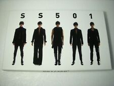 SS501 REBIRTH SPECIAL EDITION ALBUM CD+Diary+Poster