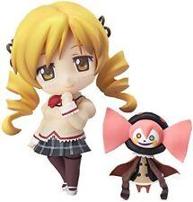USED Nendoroid Puella Magi Madoka Magica Tomoe Mami Figure School Uniform ver.