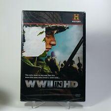 WWII World War 2 in HD (DVD 2010, 3-Disc Set) History Channel WW2 NEW!! 7 Hours+