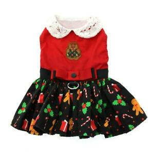Doggie Design Gingerbread Holiday Dog Dress or Gingerbread Man Vest