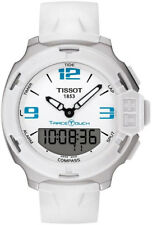 T081.420.17.017.01 | BRAND NEW TISSOT T-RACE TOUCH WHITE DIAL QUARTZ WATCH