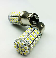 P21/5W 380 BAY15d WHITE YELLOW 60 SMD LED SIDELIGHTS INDICATOR CAR BULBS DUAL A