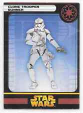 2005 Star Wars Miniatures Clone Trooper Gunner Stat Card Only Swm Mini