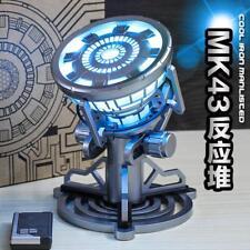 Toys Legend 1:1 Marvel Iron Man Tony Stark ARC Reactor Prop Replica LED Light-Up