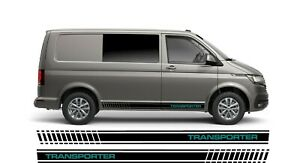 Side stripes to fit VW Transporter T4 T5 T6 HIGH OEM QUALITY
