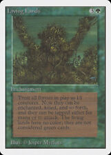 MTG X1: Living Lands, Unlimited, R, Moderate Play - FREE US SHIPPING!