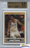 2006/07 Topps #245 Jordan Farmar Rookie BGS 9.5 GEM MINT Lakers 2x NBA Champion