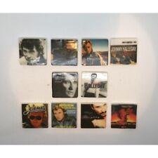 Série complète de 10 fèves Johnny Hallyday discographie 2021