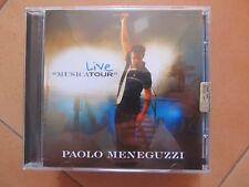 """CD Paolo Meneguzzi """"LIVE"""" usato ma come nuovo"""