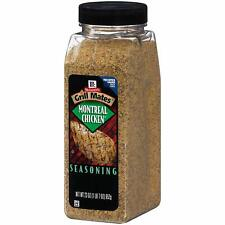 McCormick Grill Mates Montreal Chicken Seasoning 23 oz - 3 Pack