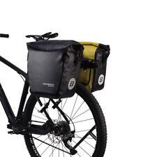 RockBros Cycling Waterproof Pannier Bag Bike Bicycle Rear Carrier Black 18L 1pcs