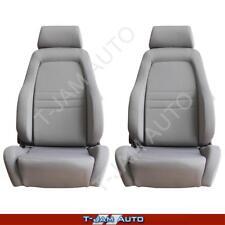 Adventurer 4x4 4WD Bucket Seat Pair 2 x Grey Cloth ADR Approved Landcruiser