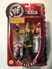 ROB VAN DAM 2002 WWE Unchained Fury Series 1  Jakks Figure FREE SHIPPING