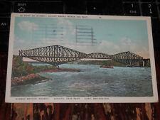 QUEBEC BRIDGE CANADA - OLD POSTCARD - Le Pont de Quebec