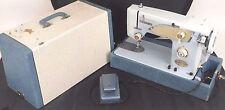 Vintage Necchi-Alco A509B-2 Sewing Machine with Case Portable