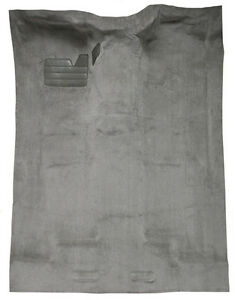 1999-2000 Chevrolet K3500 Extended Cab w/o Rear Air Old Body Replacement Carpet