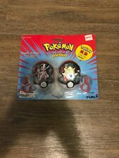 Pokémon Mewtwo and Mew toy figure Keychains 2 pack Vintage 1999