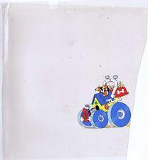 Laff-A-Lympics Original Painted Animation Cel Doggie Daddy, Augie Doggie