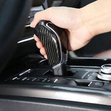Real Carbon Fiber Car Gear Shift Knob Cover Trim For Maserati Ghibli Levante
