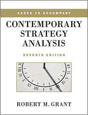Cases to Accompany Contemporary Strategy Analysis, 7th edition-ExLibrary