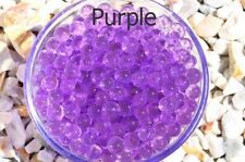10 Bags Purple Water Beads Crystal Soil GEL Balls Pearls Jelly for Party Wedding