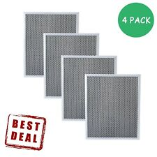 4 x Cooking Vent Range Hood Charcoal Filter Whirlpool Uxt4036Aa Broan 97007696