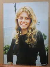 Lindsay wagner as Jamie Somers bionic woman Poster 1976 Vintage  Inv#G1757