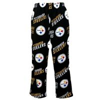 Pittsburgh Steelers NFL Concepts Sports Wildcard Men's Pajama Pants-SIZE Small