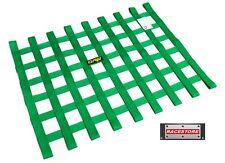 WINDOW NET GREEN 455x575mm - SFI 27.1 APPROVED, RACE RALLY SPEEDWAY TRACK CAR