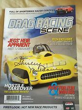 Shirley Muldowney Autographed Magazine NHRA Drag Racing Superstar Signed