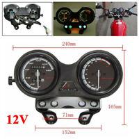 Motorrad Tachometer Drehzahlmesser Kilometerzähler für Yamaha YBR125, Hohe