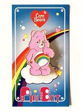 Care Bears, Cheer Bear enamel Pin.  80's toy inspired enamel pin