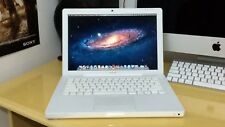"""Apple  13""""  White  Macbook Computer Laptop * New Battery * 60-Day WARRANTY! Save"""