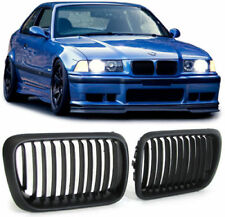 MATT BLACK BONNET GRILLS GRILL  FOR BMW E36 9/1996-2000 FACELIFT MODEL NICE GIFT