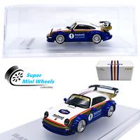 CM-Model 1:64  RWB Porsche 911 (964) Rothmans Release Detachable Wing - Diecast