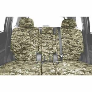 Caltrend Camo Front Seat Cover for Chevrolet 2019 Silverado 1500 LD - CV541-98KF
