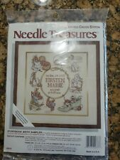 New listing Neddle Treasures Counted Cross Stich 02673