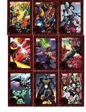 2014 Marvel Universe MGB Thor 9 card RED Expansion set