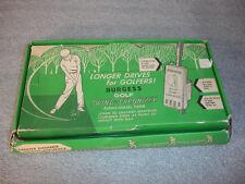 Old Vtg Burgess Golf Swing Chronizer Audio Visual Timer With Box & Paperwork