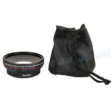 0.45x Wide Angle Lens for 62mm Nikon Canon Sony JVC Olympus Fujifilm Pentax lens