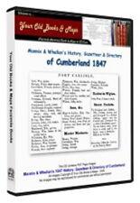 Cumberland Mannix & Whelan Directory 1847 CDROM