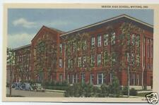 WHITING INDIANA WHITING HIGH SCHOOL POSTCARD
