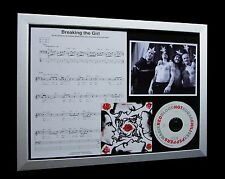 RED HOT CHILI PEPPERS Breaking The Girl LTD Numbered CD QUALITY FRAMED DISPLAY!!