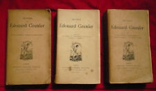 Édouard Grenier, Oeuvres (3 tomes)