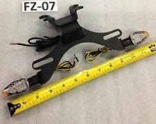 FZ 07 FZ-07 MT 07 MT-07 Yamaha Fender eliminator Tail Tidy 2013 -2017 BLACK 2T/S