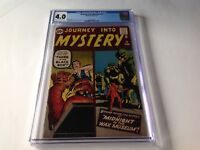 JOURNEY INTO MYSTERY 74 CGC 4.0 WAX MUSEUM STEVE DITKO JACK KIRBY MARVEL COMICS