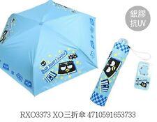 2017 Sanrio Bad BadTz Maru Folding Umbrella Uv Cut - Blue